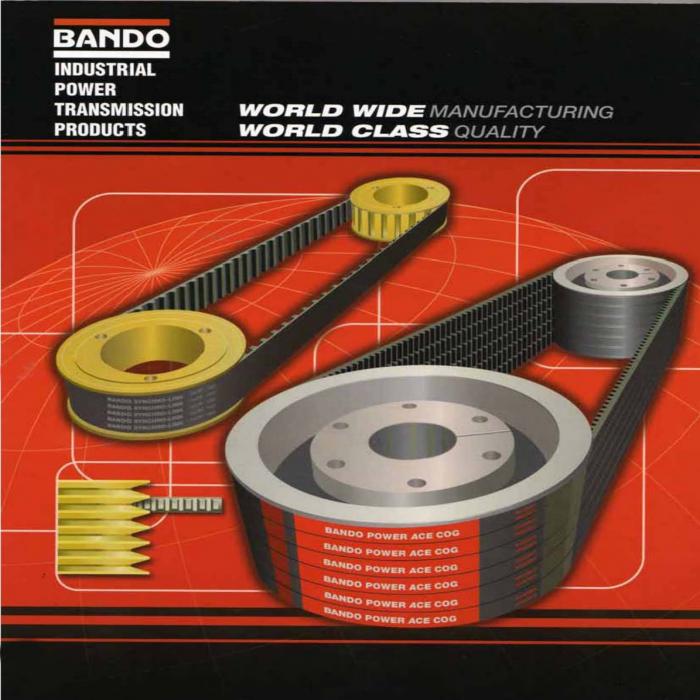 dây curoa BANDO POWER ACE COG