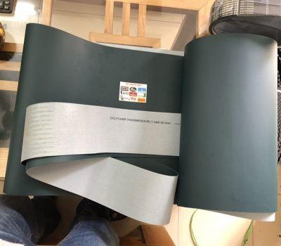 BĂNG TẢI PVC 2*120*2400 XANH LỤC ĐẬM