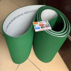 Băng tải PVC gai xanh